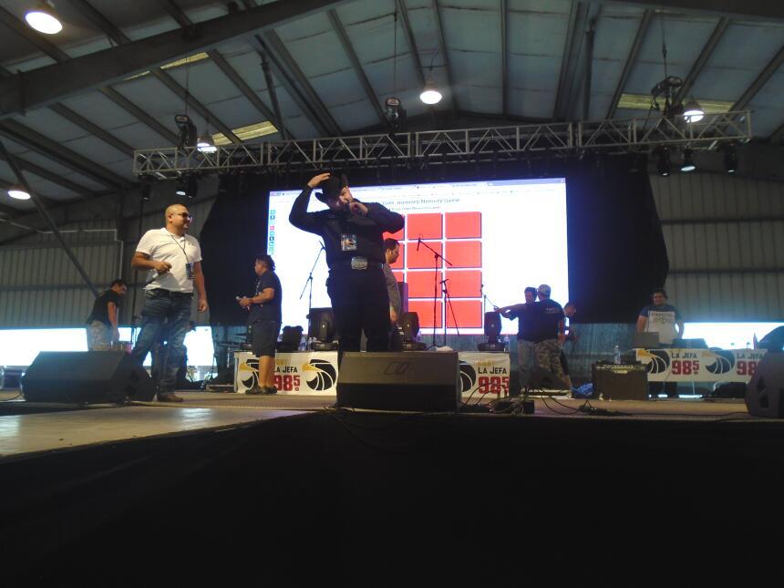 La familia de Univision McAllen en Fiestas Patrias 2016 DSC02865.JPG