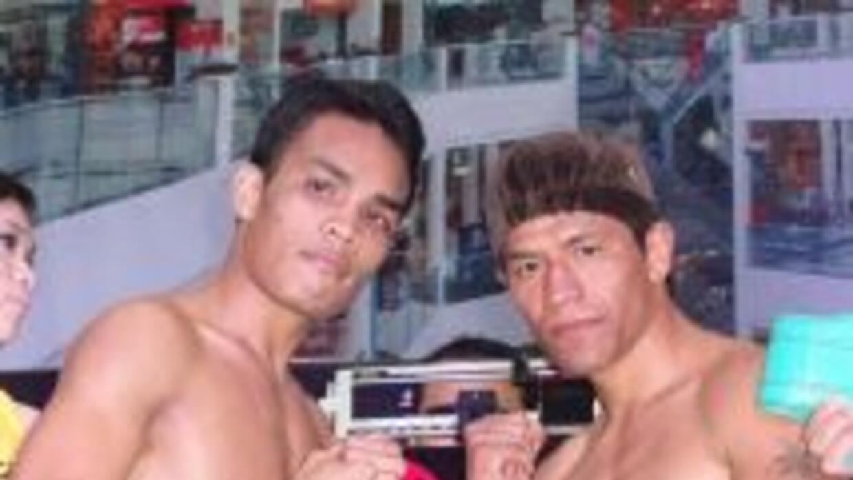 Servania y García listos en Filipinas (Foto: Facebook)