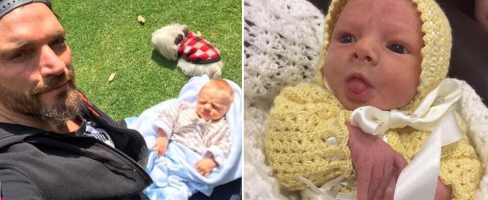 Fotos exclusivas del bebé de Julián Gil y Marjorie de Sousa