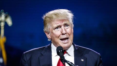 El candidato Trump en la Western Conservative Summit, el 1 de julio de 2016