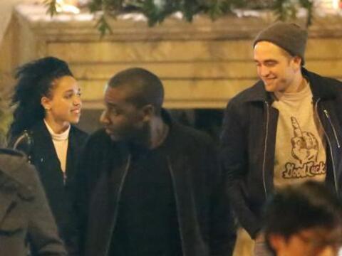 Robert Pattinson y FKA Twigs salieron a divertirse en un club de Los &Aa...