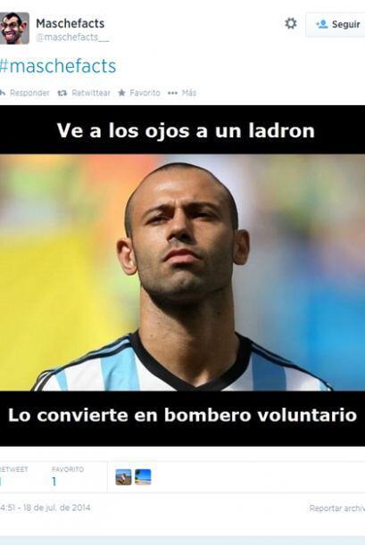 La afición de Argentina honró el gran Mundial de Javier Mascherano crean...