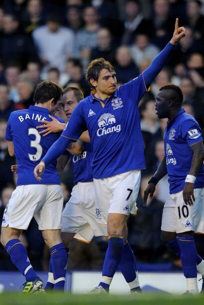 Everton le estaba ganando a un grande, y ante todos los pronósticos.