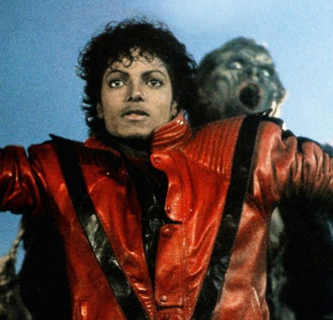 Thriller fue compuesta por Rod Temperton y producida por Quincy Jones. O...
