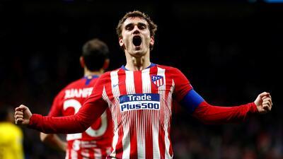 En fotos: Atlético de Madrid se perfila en octavos de final tras vencer a Borussia Dortmund