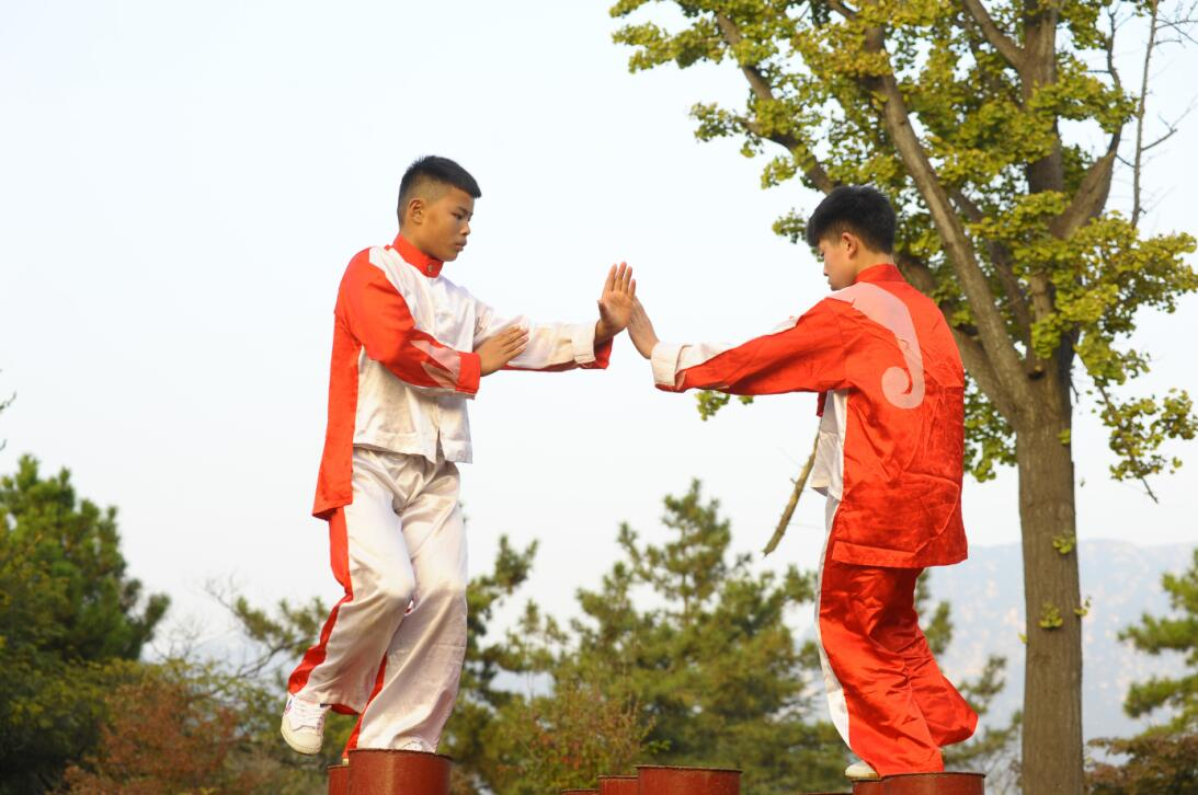 Deporte al estilo shaolín, entre lo espectacular y lo tradicional GettyI...
