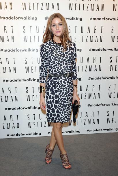 Olivia Palermo lleva lo más increíble de su guardarropa a todos y cada u...