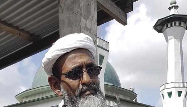 Umar Abdullah, jefe del Frente Islámico del sur de Trinidad