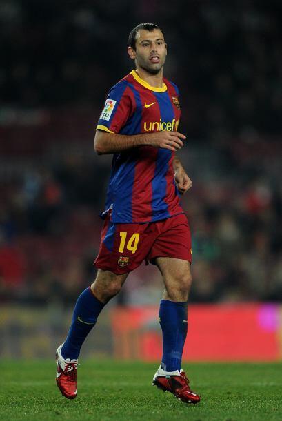 Javier Mascherano: Empezó como discreto sustituto de Busquets en...