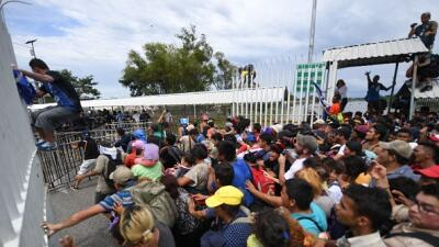 La caravana de migrantes puede convertirse en una grave crisis política y humanitaria