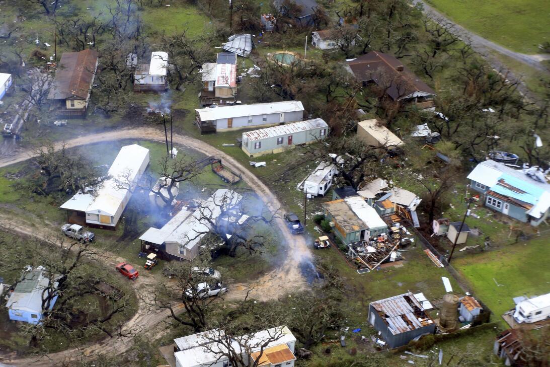 Fotos a reas la destrucci n de harvey a su paso por texas - Ap construcciones ...