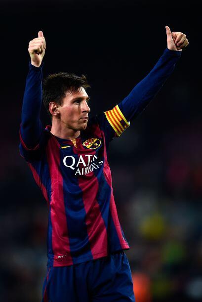 Messi comenzó el 2014 a un ritmo semilento, y aunque no vivi&oacu...