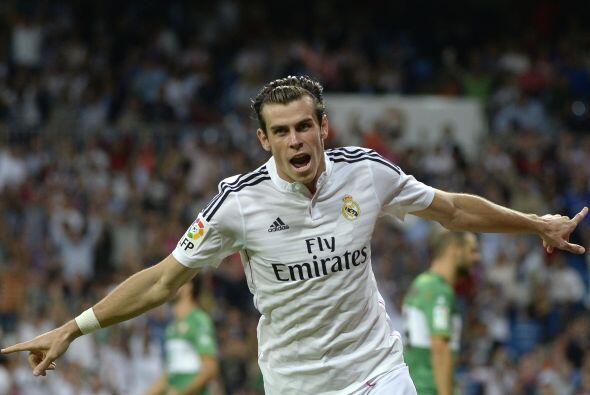En el tercer sitio figura el madridista Gareth Bale, con un precio de 80...