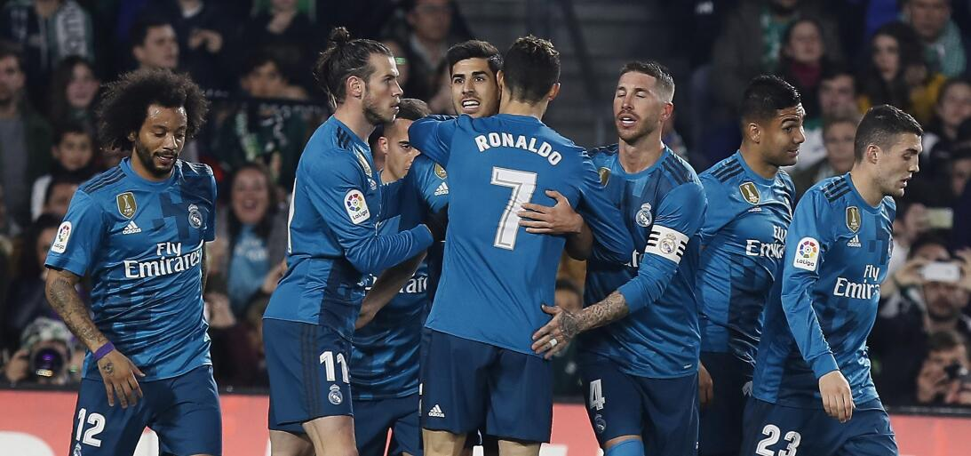 En fotos: Real Madrid golea al Betis en un juego en el que se perdieron...