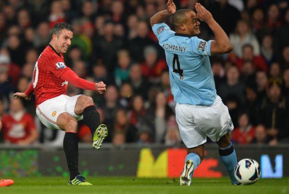 Sin embargo, al United no le alcanzó el tiempo restante y el City se lle...