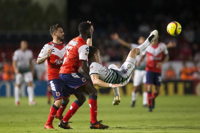 En fotos: Con gol de último minuto, Santos rescata el empate ante Veracr...