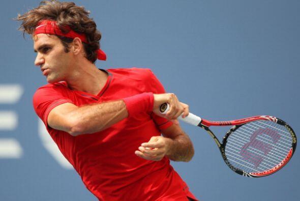 Roger Federer perdonó y dejó vivir a Novak Djokovic, quien no desaprovec...
