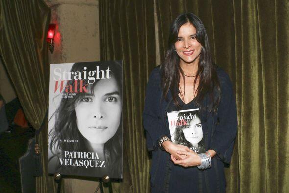 Patricia Velásquez celebró el lanzamiento de su libro 'Walk Straight'.