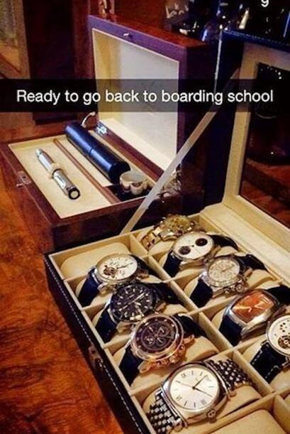Que tal su repertorio de relojes para el comienzo en la escuela privada!