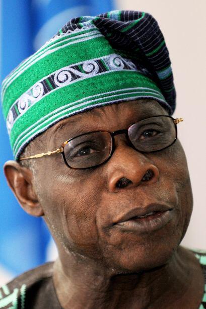 Olusegun Obasanjo mandatario de Nigeria en el periodo 1999-2007, se vio...