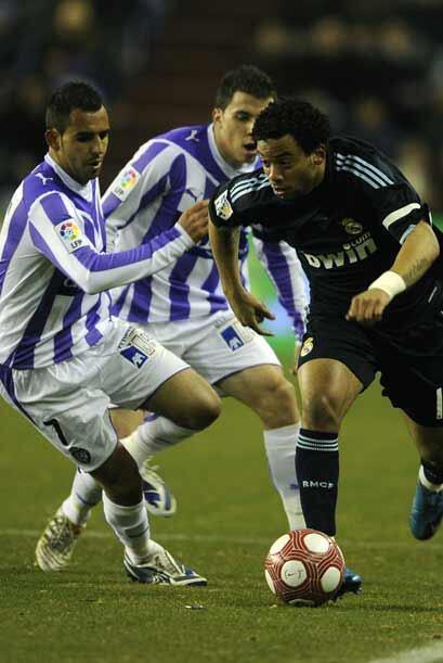 El equipo 'merengue' visitó la cancha del Valladolid.