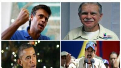 El presidente venezolano dijo estar dispuesto a dialogar sobre Leopoldo...