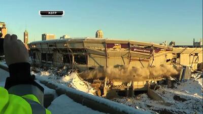 Demolición del Estadio Hubert H. Humphrey Metrodome