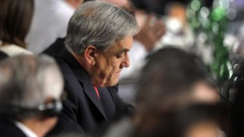 El presidente de Chile aseguró que todos cometen errores y que seguramen...