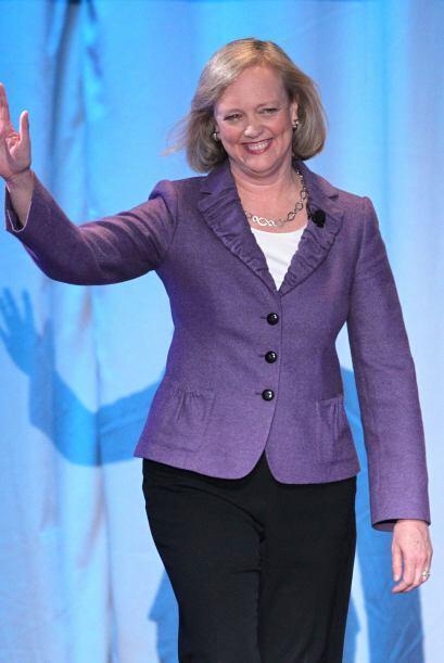 9. Meg Whitman. La CEO de HP, de 57 años, recibió a su llegada a la empr...