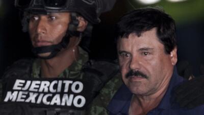 """Recaptura de """"El Chapo"""" Guzmán"""