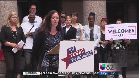 Líderes comunitarios muestran su inconformidad por la iniciativa SB6