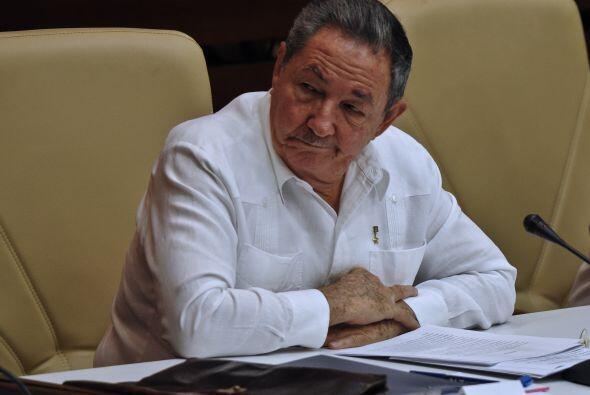 El presidente de Cuba, Raúl Castro participa en el Parlamento de...