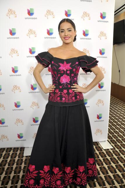Danna promoviendo en Nueva York la telenovela 'Qué Bonito Amor' 2013.