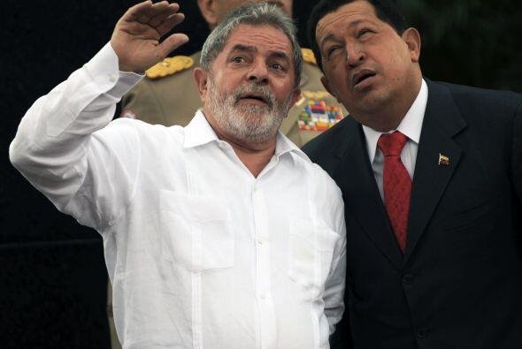 Mientras que el mandatario brasileño, Luis Inácio Lula Da Silva fue más...
