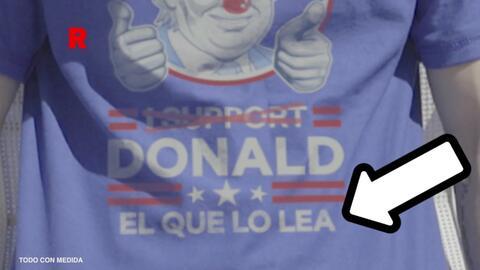 El 'troleo' a Trump de una marca de cervezas mexicana: vendieron camiset...