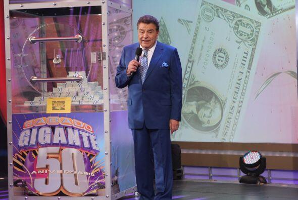 Este programa también hubo un gran premio 50 mil dólares. Don Francisco...