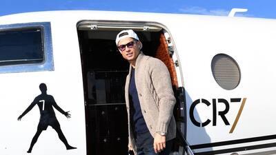 Cristiano Ronaldo se muda a Turín con toda su colección de autos