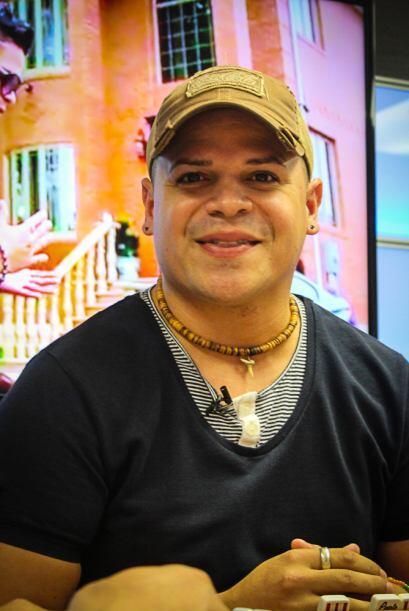 El mostro de Máxima Música estuvo compartiendo con Anthony Maldonadolíd...