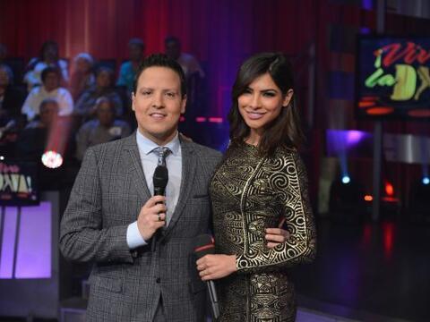 Raúl González y Alejandra Espinoza son los conductores de...
