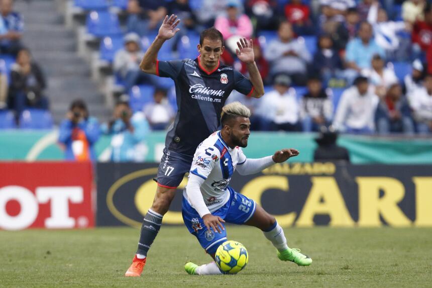 Morelia derrotó a Puebla con gol de último minuto Emanuel Loechsbor y Pe...