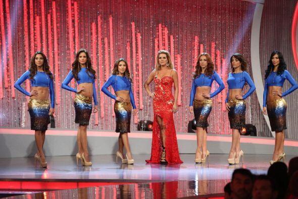 Las primeras chicas en aparecer fueron las de Alicia Machado, una vez m&...