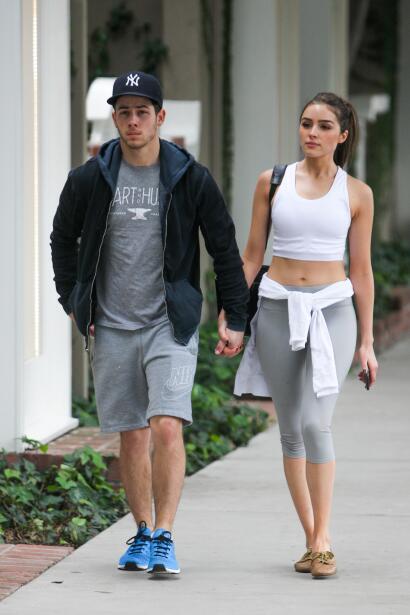Nick Jonas y Olivia