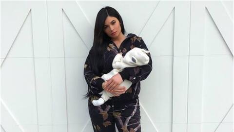 Kylie Jenner con la pequeña Stormi.