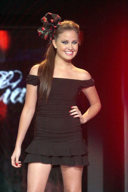 Otra belleza que tiene 23 es Natasha Dupeyrón.