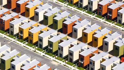 En fotos: Las casas 'de Lego' que se construyen para los trabajadores de México que parecen perfectas pero...no
