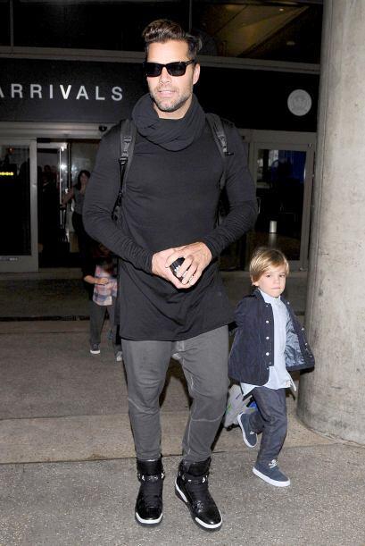 Nadie se imaginó que el guapísimo Ricky Martin se convertiría en papá, h...
