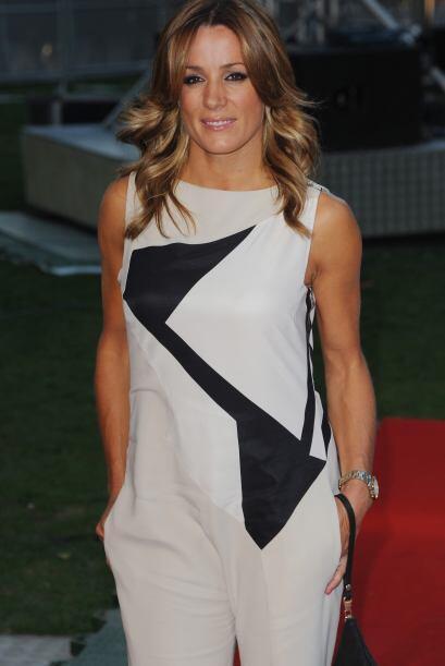 Natalie Pinkham es una guapa reportera británica especialista en F1.