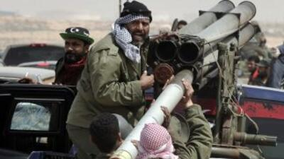 Desde el inicio de los ataques en Libia el 19 de marzo, la coalición no...