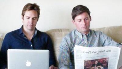Nick Boutelier y Taylor Peck, los cerebros tecnológicos y políticos detr...