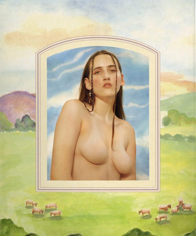 La artista que le borra los pezones a sus desnudos (para que no la censu...